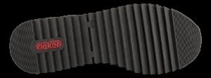 Rieker Damesko med snøre Sort M3682-00