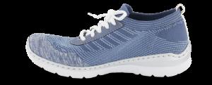 Rieker damesneaker blå L32K4-12