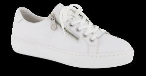 Rieker damesneaker hvid L59L1-80