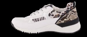 Marco Tozzi damesneaker hvit multi 2-2-23734-34