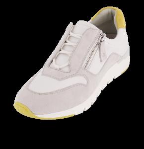 Caprice damesneaker hvid/grå 9-9-23706-24