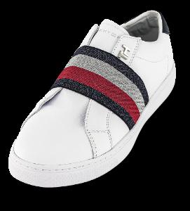 Tommy Hilfiger damesneaker hvit FW0FW04597
