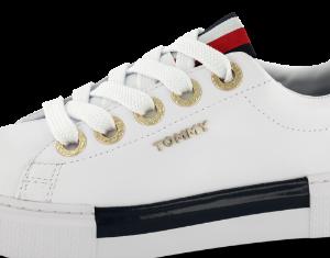 Tommy Hilfiger damesneaker hvid FW0FW04600