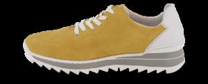 Rieker damesneaker gul M6929-68