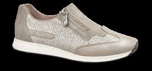 Rieker dameslip-in grå 56067-81
