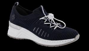 Rieker damesneaker marineblå N4360-14