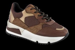 B&CO damesneaker brun 2450500232