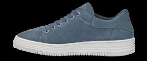 B&CO damesneaker denim blå