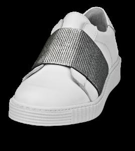 Ca*shott damesneaker hvid/sølv S19151