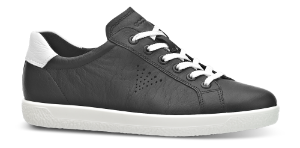 ECCO damesneaker sort 400583 SOFT 1 LA