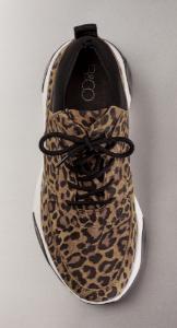 B&CO damesneaker leopard