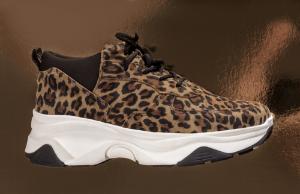 B&CO dame-sneaker leopard