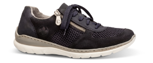 Rieker dame-sneaker blå L3230-14