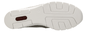 Rieker dame-slipin grå 53766-41