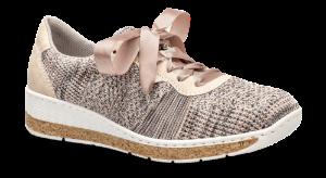 Rieker damesneaker rosa multi 597P4-90