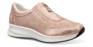 Rieker dame-sneaker rosa N5657-90