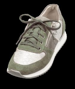 Rieker dame-sneaker grøn/sølv N7022-54