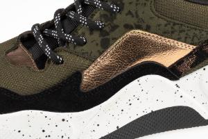 B&CO damesneaker sort /grøn