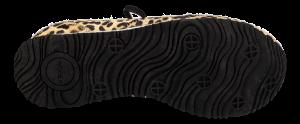 Woden damesneaker leopard WL903-327