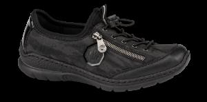 Rieker dame-sneaker sort N2263-00