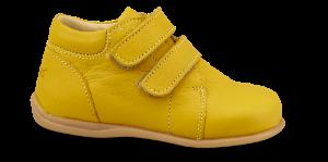 Skofus Prewalker babystøvel gul