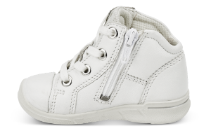 ECCO babystøvel hvit 754021 FIRST