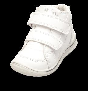 Skofus babystøvel hvit