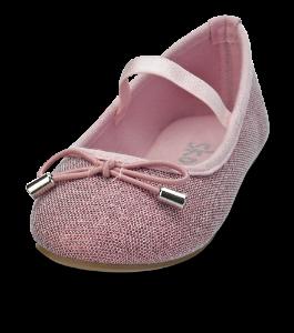 Skofus barne-ballerina rosa
