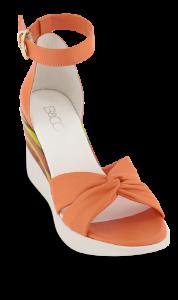 B&CO damesandal orange