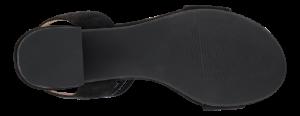 B&CO Damesandal med hæl Sort 4210101010