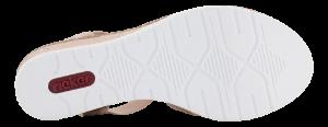 Rieker damesandal rosa V3822-31