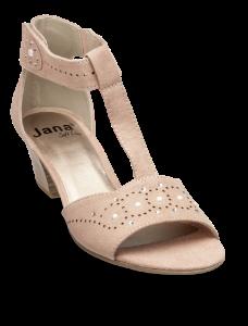Jana Softline damesandal rosa 8-8-28362-22