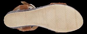 Tamaris damesandal brun 1-1-28013-24