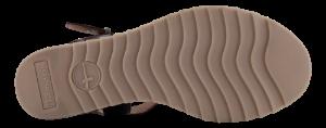 Tamaris damesandal brun 1-1-28015-24