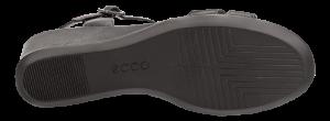ECCO damesandal sort 250133 SHAPE 35