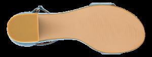 B&CO damesandal koboltblå 4211101051