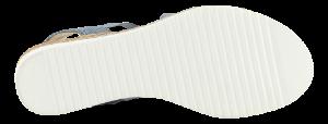 B&CO damesandal marineblå 4211101350