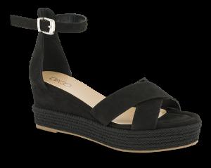 B&CO høy sandal sort 4211102410