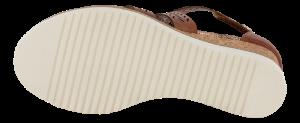 Tamaris Damesandal med hæl Brun 1-1-28352-26