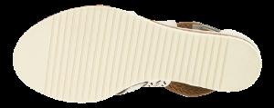 Tamaris Damesandal med hæl Hvit 1-1-28352-26