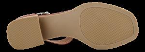 Caprice Damesandal med hæl Brun 9-9-28208-26
