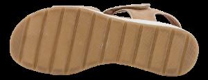 Caprice Damesandal med hæl Brun 9-9-28307-26