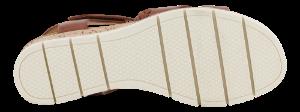 Caprice Damesandal med hæl Brun 9-9-28709-26