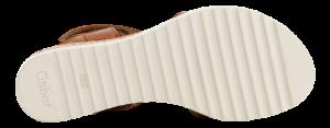 Gabor Damesandal med hæl Brun 62750