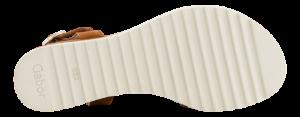 Gabor Damesandal med hæl Brun 62751