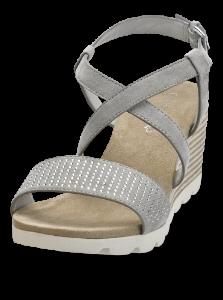 Caprice damesandal grå 9-9-28706-20