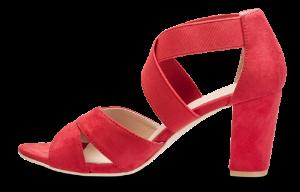 B&CO damesandal rød