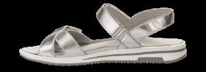 Caprice dame sandal sølv 9-9-28600-22