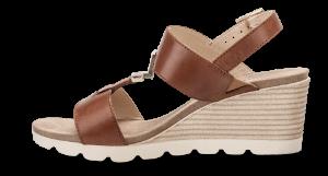 Caprice dame sandal cognac 9-9-28307-22