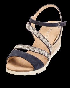 Caprice dame sandal blå 9-9-28309-22